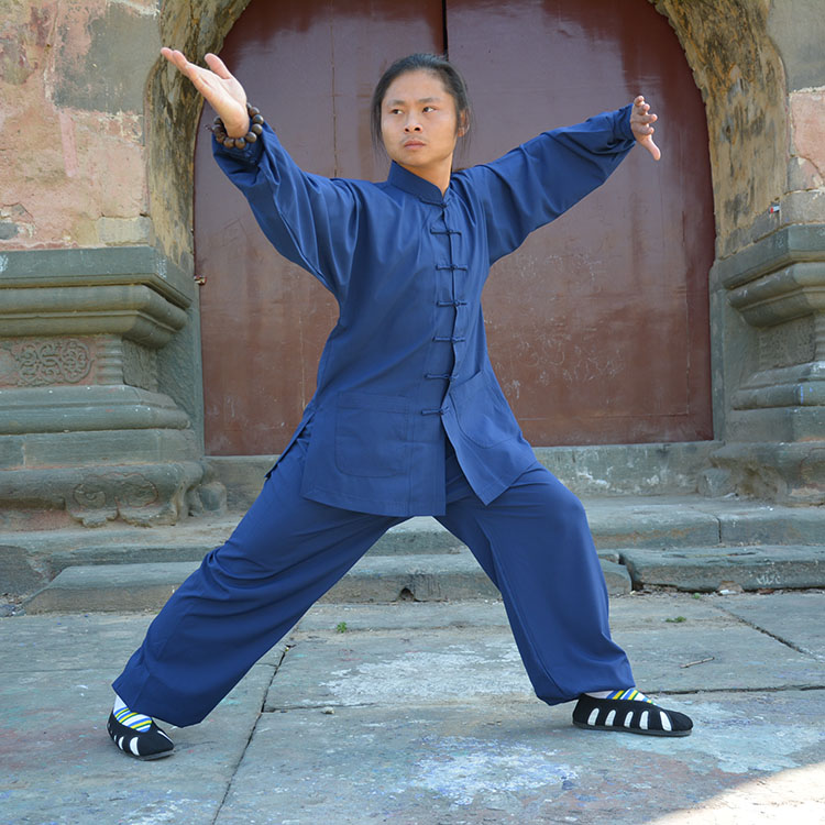 Tai Chi clothing martial arts taijiquan performance clothing fall exercise clothing  men and women wudang suit <br><br>Aliexpress