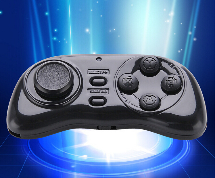 Super mini Wireless Bluetooth Remote Game Controller Gamepad Joystick for Android/iOS For Phone,Tablet,PC,selfie shutter(China (Mainland))