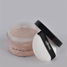 1Pcs IMAGIC Loose Powder In Makeup Face Concealer Natural Mineral With 7 Colors Cosmetics Beauty Tools High Quality Hot Sale(China (Mainland))