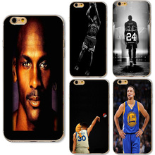 Buy Basketball Superstar Jordan Wade Curry Bryant Phone Cases Apple iphone 6 6S 7 Samsung Galaxy A3 A5 J5 2016 J2 Prime Cover for $1.39 in AliExpress store