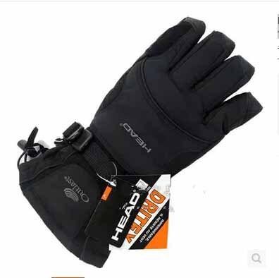 Новый бренд мужской лыжные перчатки для Сноуборда перчатки Снегоход Мотоцикл Езда зимние перчатки Ветрозащитный Водонепроницаемый мужская снег перчатки