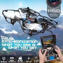 100% Original JJRC H6D 5.8GHz Real-Time 2.4G 4CH 6-Axis Gyro RC FPV Quadcopter Drone with 2.0MP HD Camera