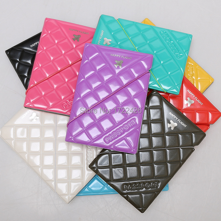 2015 hot sale passport holder passport case diamond series cover for passport nine color choice(China (Mainland))