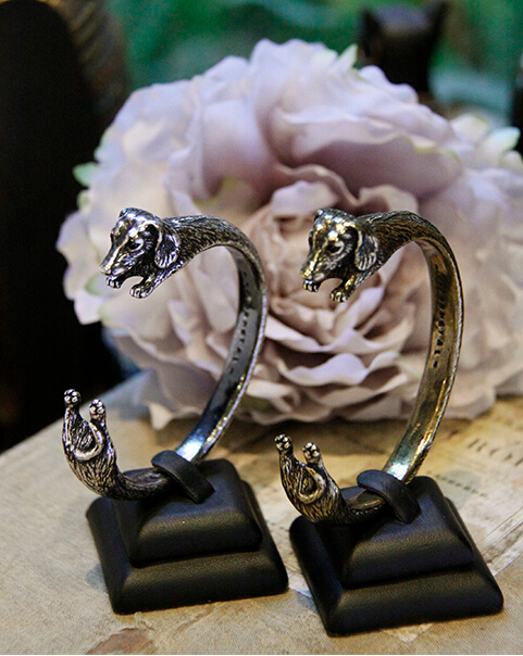Handmade Dachshund Breed Cuff Bangle For all the Dog, Puppy, and Pet Lovers--12pcs/Lot(Antique silver/Antique Bronze/Black)<br><br>Aliexpress