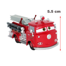 2016 Fashion Pixar Cars 2 Red Firetruck Diecast Metal Toy Car Loose Diecast 1:43 for Kids Free Shipping(China (Mainland))