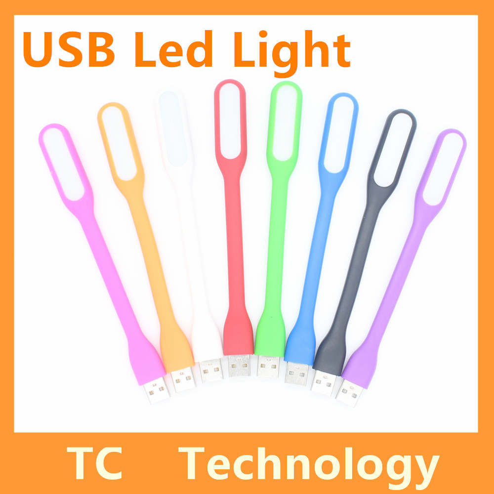 Flexible Metal USB Gadget LED Bulb Ultra Bright USB LED Light For Notebook Computer Laptop PC