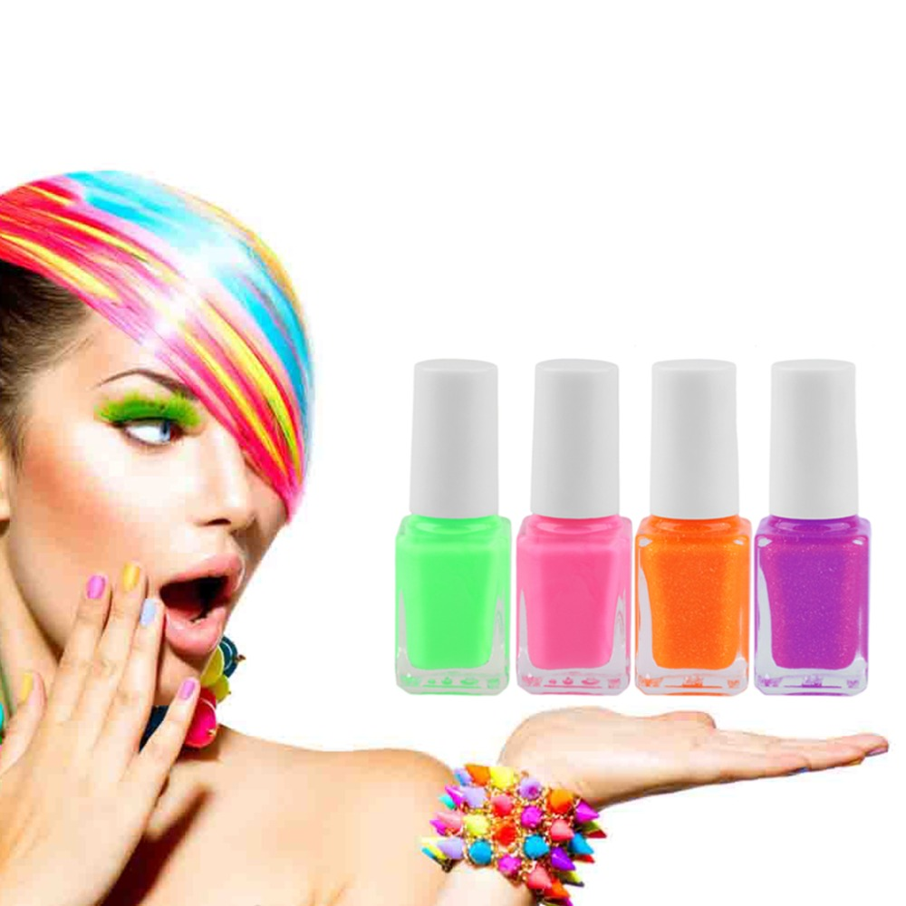 New Candy color Glow in Dark Fluorescent Varnish Luminous DIY Nail Gel Polish Nail Art Manicure tool Hot!<br><br>Aliexpress