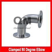 """1'' -1.5"""" 3A 90Degree Elbow clamp end.Stainless Steel Bend(China (Mainland))"""