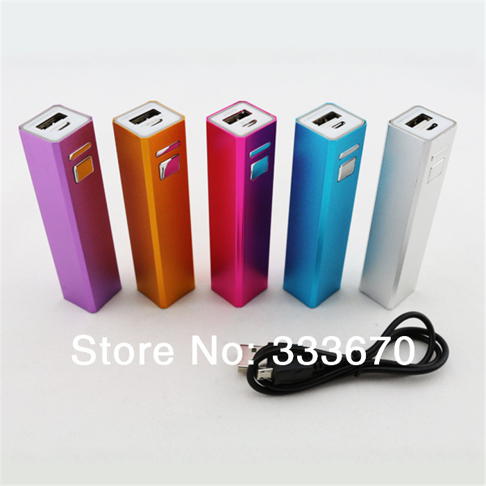 2600mAh USB External Backup Battery Charger Portable Power Bank For iPhone 5 5S 4 4S For S5 S4 S3 Note 3 2 For Nokia For Z1