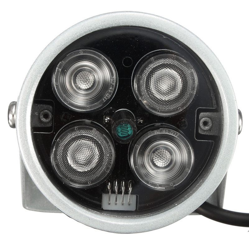 DC 12V 2A CCTV4 Array IR Led Illumination Light CCTV Waterproof IR Infrared Night Vision For Surveillance Camera Free Shipping(China (Mainland))