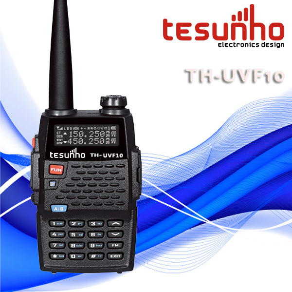 TESUNHO TH-UVF10 handsfree new powerful vhf/uhf handheld best selling long range ham radio china(China (Mainland))