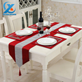 32x210cm Luxury Cotton Modern Diamond Bronzing Table Runner Cloth Wedding Table Runner Home Party Decoration Fast