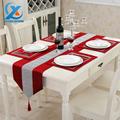 32x210cm Luxury Cotton Modern Diamond Bronzing Table Runner Cloth Wedding Table Runner Home Party Decoration Fast