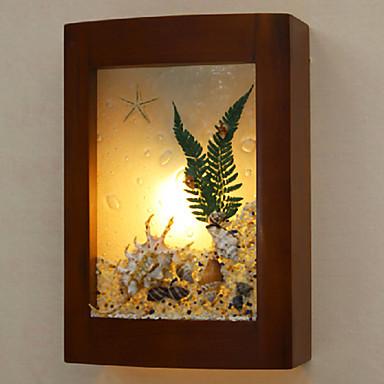 Creative Wood Frame Modern LED Wall Lamp Light,Wall Sconce Arandelas Lampara De Pared<br><br>Aliexpress