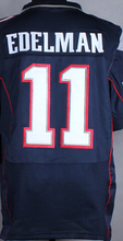 Wholesale Men's #11 Julian Edelman Jersey White Blue Red Cheap Julian Edelman Stitched Sports Jerseys Free Fast Shipping(China (Mainland))