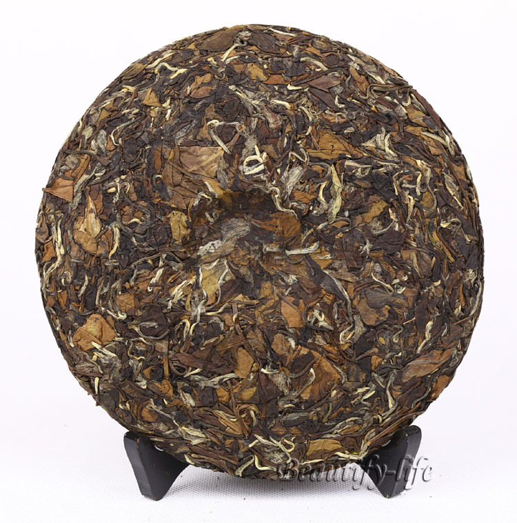 2009 High Mountain Organic White Tea 350g Aged White Peony China Fuding tea Cha low blood