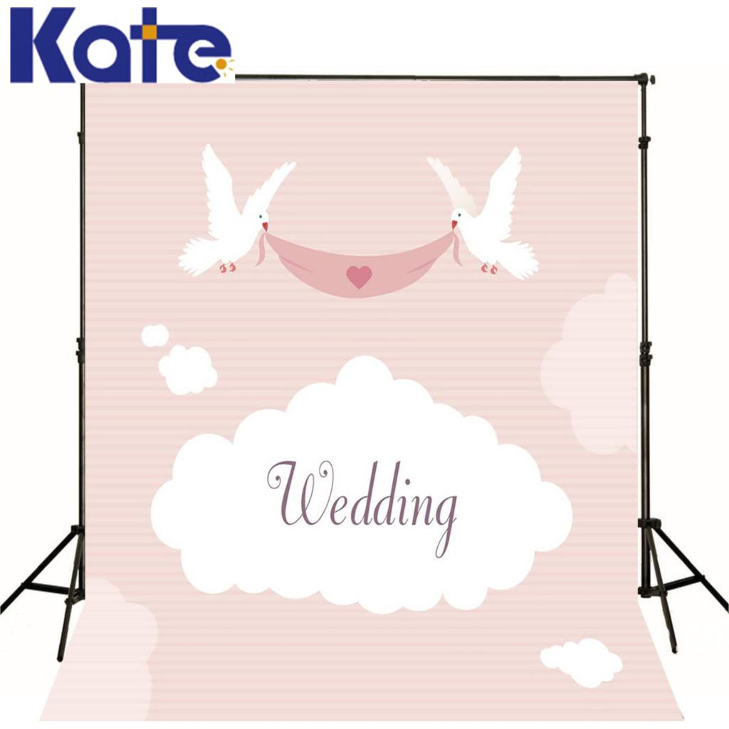 Kate pink background photography studio photography Valentine love wings custom size backdrops wedding for studio<br><br>Aliexpress