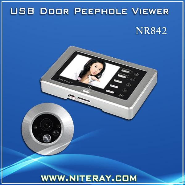 Motion Detection Peephole Digital Door Viewer Door Eye Viewer