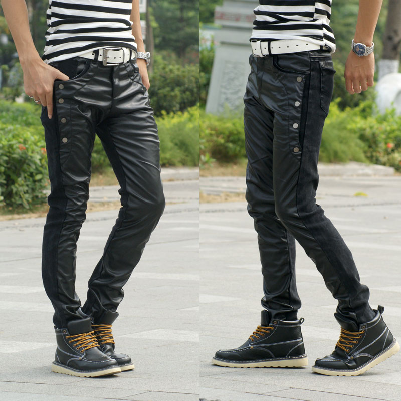 Leather Jeans For Boys Leather Pants Boys Fashion