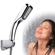 Pressurized Water Shower Head 300 Hole Chuveiro Bathroom Showers  Square Sprayer  Hand Showers Head Chrome with ABS  (China (Mainland))
