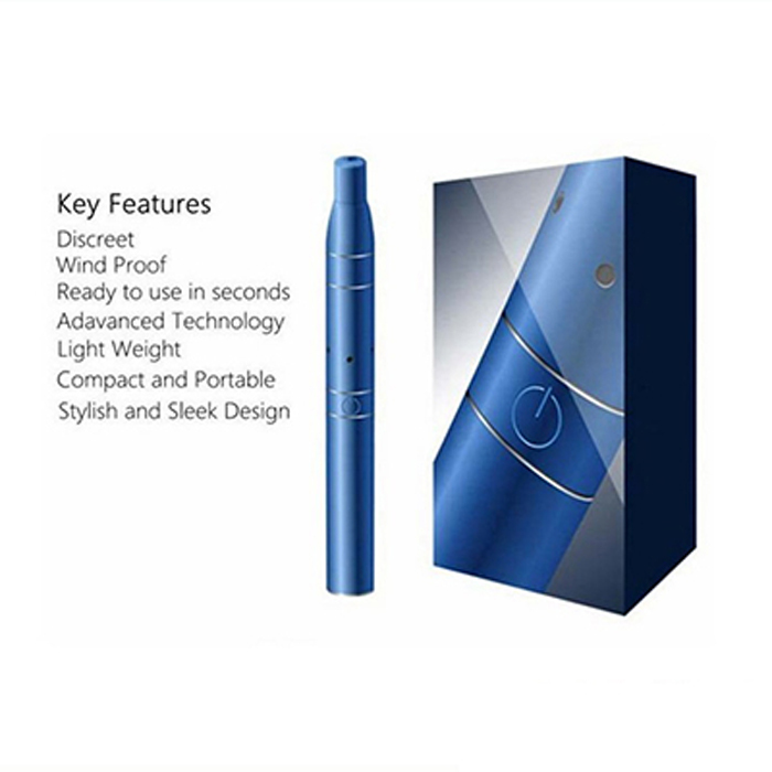 100 pieces/lot AGo G5 Dry Herb Vaporizer Pen 650mah Electronic Cigarette with LCD Display AGO G5 Blue E-Cigarette<br>