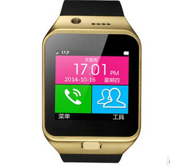 """Fashion 1.55"""" 1.3 Camra TF SIM Card Smart Bluetooth Phone Watch For Android Mobile Cell Phone For Samsung Free Shipping 12001495(China (Mainland))"""