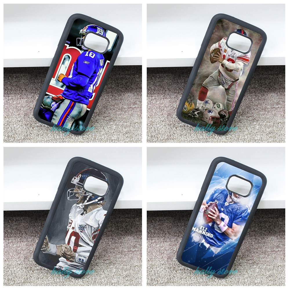 ny New York giants Eli Manning phone Cover Case for Samsung galaxy S3 S4 S5 S6 S6 edge S7 S7 edge Note 3 Note 4 Note 5 &bb334(China (Mainland))