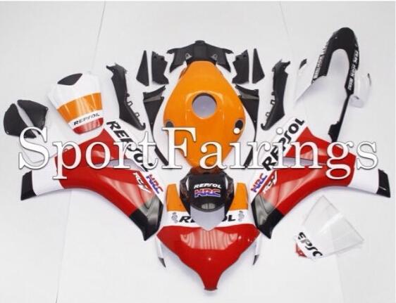 Repsol Fairings set for HONDA CBR1000RR fairing kit 2008 2009 2010 2011 CBR 1000 RR injection molding aftermarket TD91(China (Mainland))