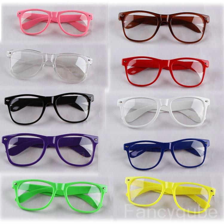 Retro Frame Trendy Glasses With No Prescription Lenses HG 0062