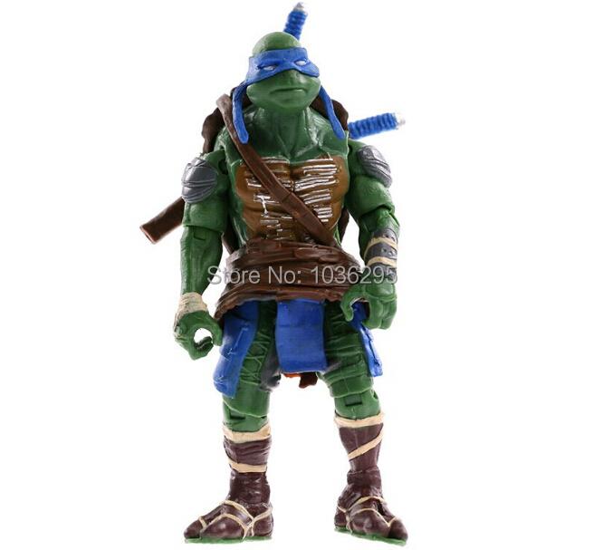 NEW HOT ! 1 PCS 12cm Anime Cartoon TMNT Teenage Mutant Ninja Turtles PVC Action Figure Toys Dolls