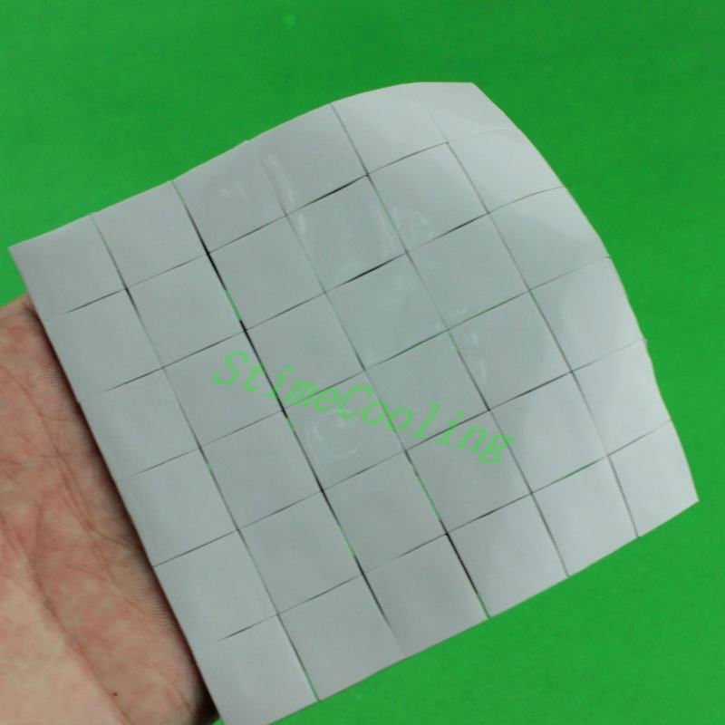 35PCS Lot 15X15x1MM Xbox PS PC VGA GPU SMD DIP IC Chip Heatsink Silicone Conduction Thermal Paste Compounds Pad(China (Mainland))