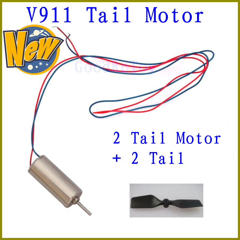 2set/Lot, Wltoys V911 Tail motor + Tail, WL V911 mini 2.4G 4ch RC Helicopter Parts Wholesale, F02133 Free shipping(China (Mainland))