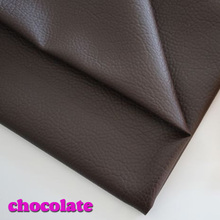 Chocolate Faux leather, PU Leather Fabric Sewing ,artificial leather for diy bag material, sold BY THE YARD, FREE SHIPPING!!!(China (Mainland))