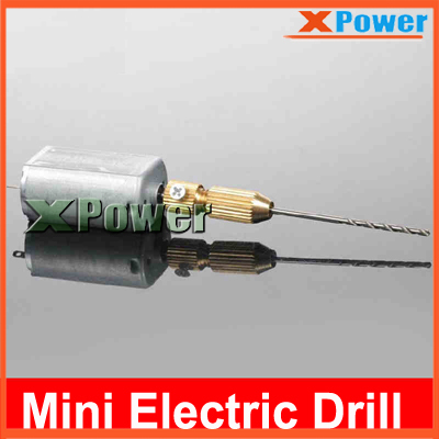 Battery Edition 6v Small Gimlet For DIY Model Use With 1.3mm Mini Electric Drill Portable Drill(China (Mainland))