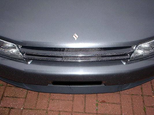 Купить Углеродного Волокна Передняя Решетка Для Nissan Skyline R32 GTR OEM BNR32 Автомобильные Аксессуары Стайлинга Автомобилей