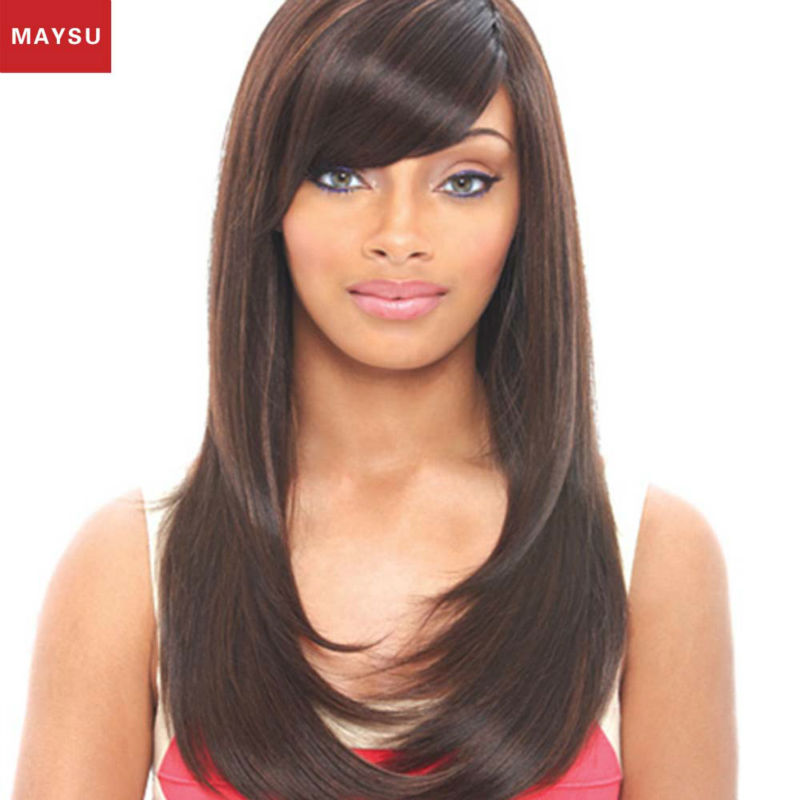 New Arrival Hand Tied Glueless Full Lace Human Hair Wigs Pure Crocheted Long Straight Human Hair Wigs For Black Women DHL Free<br><br>Aliexpress