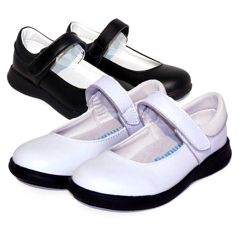 black school shoes for girls princess shoes classic simple