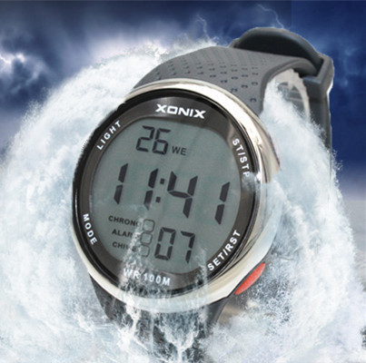 Fashion Men Sports Watches Waterproof 100 Meters Outdoor Fun Digital Watch Swimming Diving Wristwatch Reloj Hombre Montre Homme(China (Mainland))