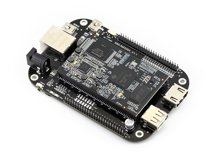 MarsBoard AM335X 512MB DDR3 4GB Nand Flash consists of CM-AM335X and SIM-AM335X AM335X TI Cortex-A8 processor<br><br>Aliexpress