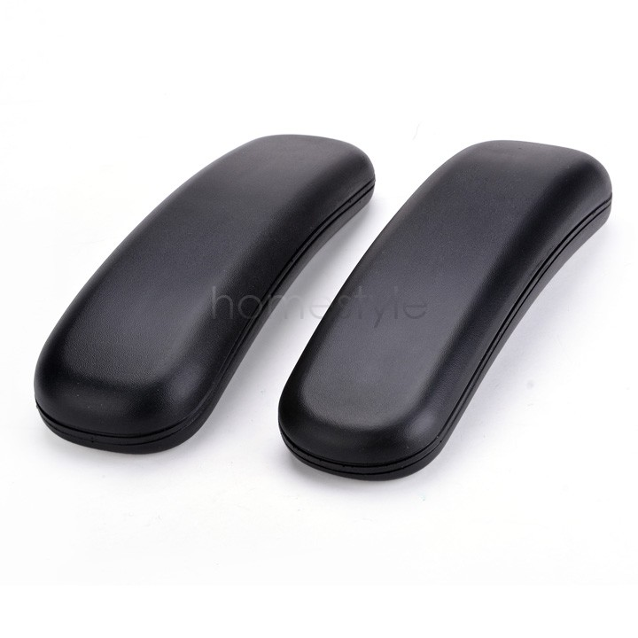 2PCS Chair Replacement Parts Arm Pads Armrest Office Supplies Black High Quality 22(China (Mainland))