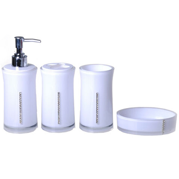 Online get cheap acrylic bath accessories for Bathroom accessories acrylic