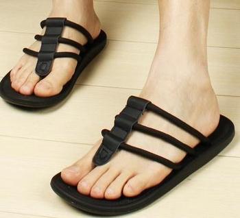 Гавайи мужчины в перевёрнутый Flip Flop сандал, Мужчины в резина Sandalia слиппер ...