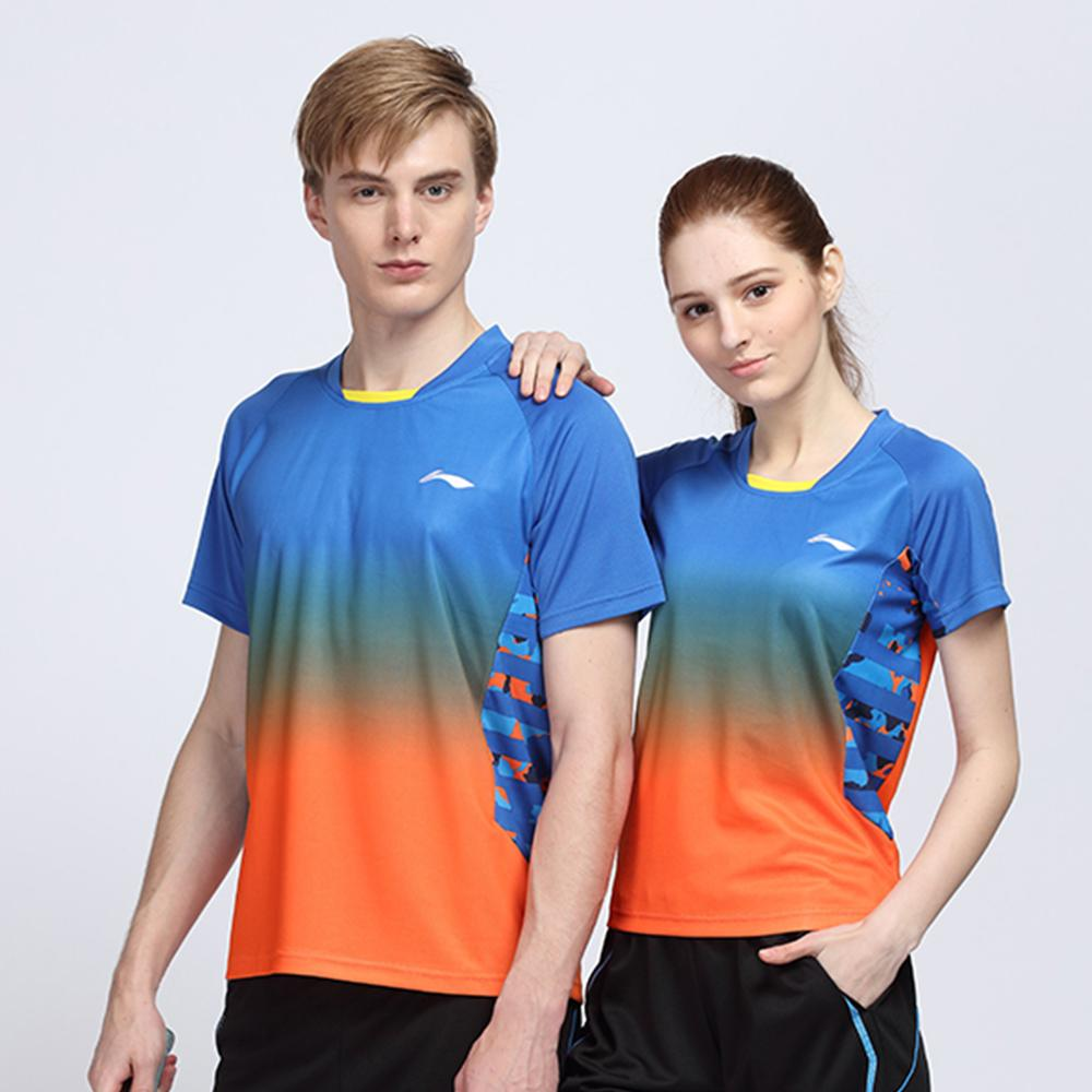 2016 New LN Badminton Shirt Men/Women ,Breathable Badminton T-shirt / Tennis Shirts sports shirts , 1pcs shirt(China (Mainland))