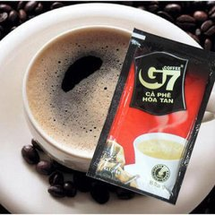 New store promotions BUY 3 GET 4 Vietnam central plains G7 pure black coffee powder instant