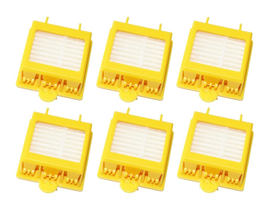 Free Shipping 6x Hepa Filter for iRobot Roomba 700 Series 760 770 780 790 Vacuum Cleaner Accessories Parts robotic vacuum spare(China (Mainland))