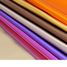 0.8mm thick Foiled mirror synthetic leather/ imitation leather/ furniture material/ shiny fabric/ for belt, handbag shoes(China (Mainland))