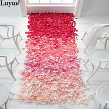 1000pcs Silk Rose Flower Petals Leaves for Wedding Decorations