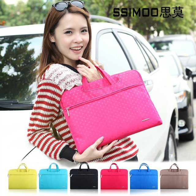 Luxury PU leather Laptop Sleeve Bag Notebook Case Cover Protector For 11.6 13.3 15.4 inch Apple MacBook Pro / Air/retina(China (Mainland))
