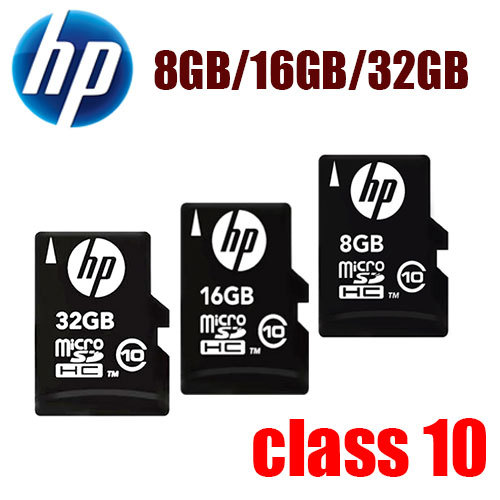 2015 100% Original Genuine HP NEW Version 32gb 16gb 8gb Ultra micro SD Card HP TF Support Official Verification(China (Mainland))