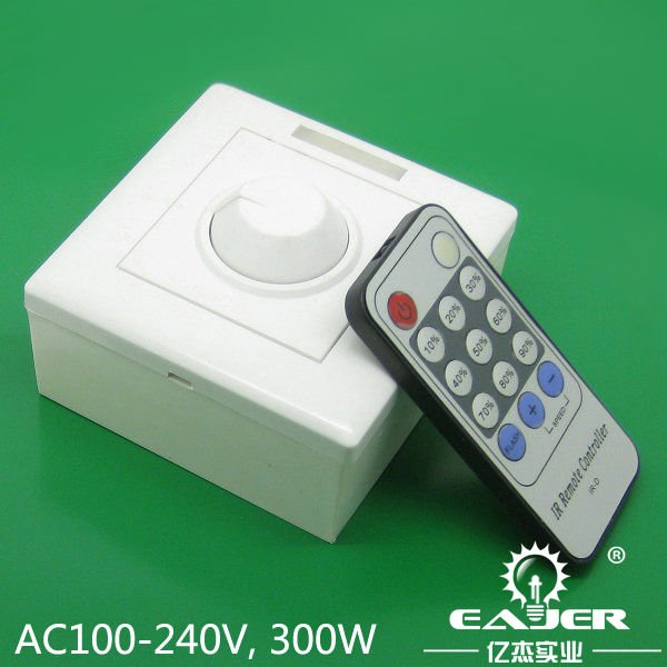 new designed 220v led dimmer and switch with ir remote control distributor wanting in dimmers. Black Bedroom Furniture Sets. Home Design Ideas